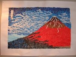 「赤富士」